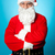 confident aged male in santa costume stock photo © stockyimages