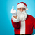 agitated santa showing his middle finger stock photo © stockyimages