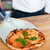 şef · pizza · plaka · pizzacı · gıda - stok fotoğraf © stockyimages
