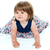 мало · ребенка · улыбаясь · сидят - Сток-фото © stockyimages