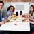 ホテル · 食事 · 男 · 表 - ストックフォト © stockyimages