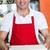 pişirmek · pizza · gülen · otel · peynir - stok fotoğraf © stockyimages