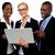 business · met · behulp · van · laptop · witte · vrouw · laptop - stockfoto © stockyimages