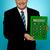 シニア · マネージャ · ビッグ · 緑 · 電卓 - ストックフォト © stockyimages
