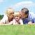parents · baiser · fille · mère · père · souriant - photo stock © stockyimages