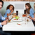 familie · hotel · diner · huis · vrouwen · hart - stockfoto © stockyimages