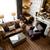 スタイリッシュ · リビングルーム · 暖炉 · ソファ · カップル · 現代 - ストックフォト © stockyimages