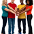 bonding · confie · grupo · jovem · multicultural - foto stock © stockyimages
