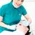 患者 · 歯科 · 歯 · 洗浄 · 歯科 · 女性 - ストックフォト © stockyimages