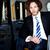 yakışıklı · genç · adam · oturma · araba · genç - stok fotoğraf © stockyimages