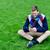 молодым · человеком · белый · свитер · стороны · человека · спорт - Сток-фото © stockyimages