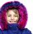 lány · kapucnis · kabát · stúdió · portré · komoly - stock fotó © stockyimages