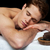 красивый · мужчина · расслабляющая · Spa · готовый · человека - Сток-фото © stockyimages