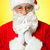 santa trying to recollect his old memories stock photo © stockyimages