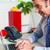 empresário · datilografia · relatório · laptop · imagem · escritório - foto stock © stockyimages