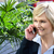 woman attending a business call stock photo © stockyimages