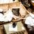 先頭 · 表示 · 小さな · 友達 · ワイングラス - ストックフォト © stockyimages