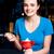 girl enjoying tempting dessert stock photo © stockyimages