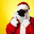 say cheese santa capturing a perfect moment stock photo © stockyimages