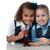jonge · kinderen · wetenschap · lab · studie - stockfoto © stockyimages