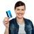 poseren · creditcard · tevreden · winkelen · mode - stockfoto © stockyimages