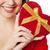 vrouw · hart · gezicht · glimlachende · vrouw - stockfoto © stockyimages
