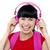 trendy music lover college student stock photo © stockyimages