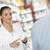 аптека · старший · человека · говорить · женщину · фармацевт - Сток-фото © stokkete