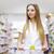 mulheres · compras · supermercado · mercearia · escolher · lavanderia - foto stock © stokkete