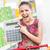 genç · kadın · süpermarket · bakıyor · kadın · kot - stok fotoğraf © stokkete