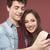 jonge · teen · paar · smartphone · samen - stockfoto © stokkete