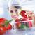 toma · verduras · frescas · nevera · moderna · casa - foto stock © stokkete