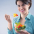 young woman eating salad stock photo © stokkete