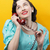 女性 · 意外 · ニュース · 電話 · 手 · 顔 - ストックフォト © stokkete