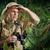 explorador · perdido · selva · velho · mapa · fumador - foto stock © stokkete