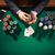 Poker player with smartphone stock photo © stokkete