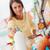 kobieta · zakupy · supermarket · młoda · kobieta · butelki · mleka - zdjęcia stock © stokkete