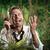 furioso · empresário · telefone · perdido · selva · zangado - foto stock © stokkete