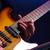 gitáros · közelkép · gitár · fény · színpad · hang - stock fotó © stokkete