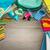 изучения · полу · красочный · канцтовары · школы - Сток-фото © stokkete