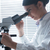 genç · bilim · adamı · çalışma · laboratuvar · güzel - stok fotoğraf © stokkete