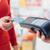 femme · supermarché · carte · de · crédit · Shopping · détail - photo stock © stokkete