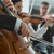 symphony orchestra performance string section stock photo © stokkete