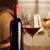 degustazione · di · vini · ristorante · bottiglia · vetro · uva · barile - foto d'archivio © stokkete