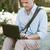 reiziger · online · laptop · Open · vintage - stockfoto © stokkete