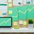siker · diagram · zöld · tő · üzlet · boldog - stock fotó © stokkete