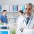 szef · lekarz · stwarzające · szary · muzyka · opieki · zdrowotnej - zdjęcia stock © stokkete
