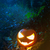 Glooming halloween lantern in the forest stock photo © stokkete