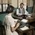 1950 · オフィス · ディレクター · 電話 · 作業 · デスク - ストックフォト © stokkete