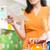 kobieta · czytania · zakupy · listy · widoku - zdjęcia stock © stokkete